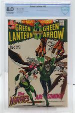 GREEN LANTERN # 82 - CBCS 8.0 - DC - 1971 - Black Canary & Sinestro App - ADAMS