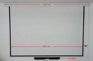 Komplett Heimkinosystem - Beamer - Wand/Deckenhalterung - E-Leinwand - Soundbar