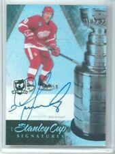 10/11 Upper Deck The Cup Igor Larionov Stanley Cup Signatures Auto #'ed 17/50