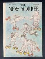 COVER ONLY ~ The New Yorker Magazine, August 20, 1979 ~ Ed Koren