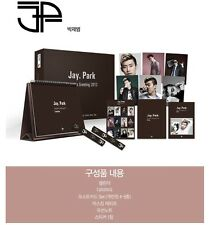 Jay Park 2012 Seasons Greeting Calendar + Diary + Post Card +Sticker Box Set