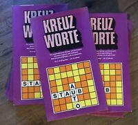 DDR Kreuzworte VEB PIKO • Vintage Brettspiel Kreuzworträtsel Scrabble ähnlich