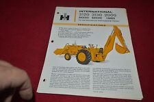 International Harvester 3120 3130 Backhoe 2000 Loader Dealer's Brochure YABE10 v