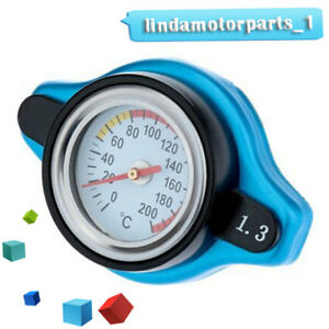 1.3 Bar Thermo Thermostatic Radiator Cap Cover Water Temperature Gauge Precisely