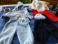 lot gilet tricoté main etc 7piéces bébé 3mois ou gros poupon