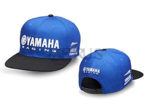Genuine Yamaha 18 Paddock Blue Black & Blue Children's Flat Peak Cap