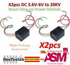 2pcs DC 3.6V-6V to 20000V 20kV Boost Step up High Voltage Generator Igniter