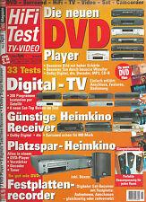 HiFi Test TV VIDEO JVC NAD Denon Panasonic Sony Teac Bose B & W Marantz Onkyo