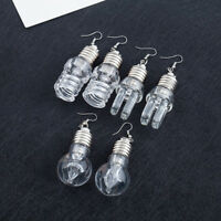 Fashion Colorful Luminous Light Bulbs Funny Dangle Earrings Women Party Jewelry