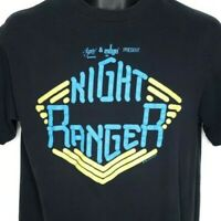 Night Ranger T Shirt Vintage 80s 1987 Big Life World Tour Made In USA Size Large