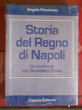 Panarese Storia del Regno di Napoli un confronto con Benedetto Croce unità Itali