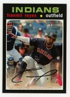 2020 Topps Heritage #275 FRANMIL REYES Cleveland Indians 1971 STYLE CARD