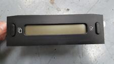 CITROEN C3 & PLURIEL 03-10 MULTIFUNCTIONAL DASH CLOCKS DISPLAY SCREEN 964740947