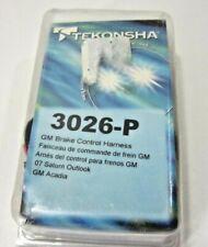 Tekonsha 3026-P OEM Chevy GMC Acadia Wire Adapter Plug-N-Play Brake Control