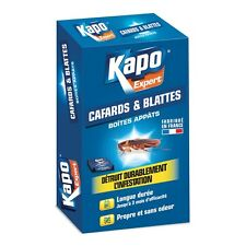 4 Boites appats cafards blattes  KAPO agit par contamination détruit la colonie