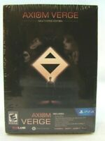PS 4 Axiom Verge: Multiverse Edition (Sony PlayStation 4, 2017) New sealed !