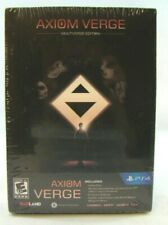 Axiom Verge: Multiverse Edition (Sony PlayStation 4, 2017) New sealed !