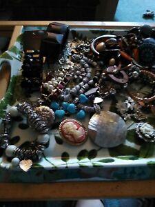 Ajob Lot Of Costume Jewelry