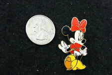 DISNEY PIN MINNIE MOUSE IN HIGH HEELS AND RED RIBBON 2005