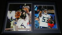 Malcolm Smith Super Bowl MVP Framed 12x18 Photo Display Seahawks