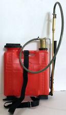 Pompa irroratrice a zaino 15 lt. con pompante in ottone Pompa a Spalla Giardinag