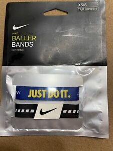 """NIKE Reversible Baller Bands One Pair Size XS/S 6-7"""""""