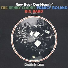 The Kenny Clarke Francy Boland Big Band : Now Hear Our Meanin CD