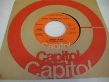 Rock Unplayed NM! 45 ANDY KIM Baby You're All I Got on Capitol 5
