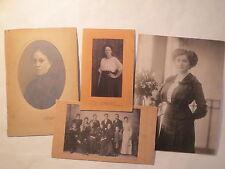 Menden i.W. - um 1920 / 4 größere Fotos