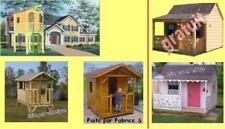 Plans maisonnette (cabane cabanon abri jardin enfants)