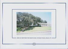 Actual GRASSY KNOLL dirt speck, Dealey Plaza, JFK assassination 1963, Dallas, TX