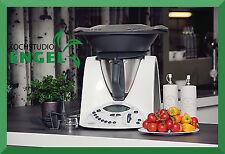 Vorwerk Thermomix TM 31 transparent plastic Varoma Kitchen appliance