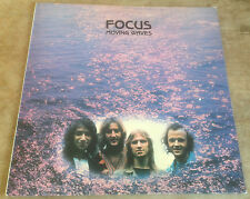 FOCUS moving waves 1971 UK BLUE HORIZON STEREO VINYL LP 1st PRESSING