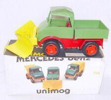 Tatrachema CZ 1:14 MERCEDES-BENZ UNIMOG & SNOW PLOUGH TRUCK Plastic Car MIB`75!