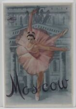 "Moscow Travel Poster 2"" X 3"" Fridge Magnet. Russia Bolshoi Theater Ballet"