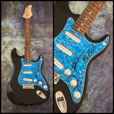 GFA Austin Bisnow Band * MAGIC GIANT * Signed Autograph Electric Guitar LA1 COA