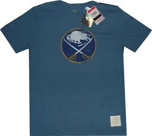 Buffalo Sabres Throwback Vintage Retro Sport Slim Fit T Shirt  Clearance! $30