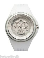 NEW ADIDAS WHITE PLASTIC UNISEX CHRONOGRAPH WATCH-ADP4027