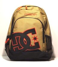 DC Shoes Backpack New Kid, Color Wheat/Black/Orange, Style 9153040802