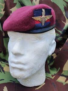 Guards Para Small Crown Beret & Cap Badge New Sizes 56 - 62
