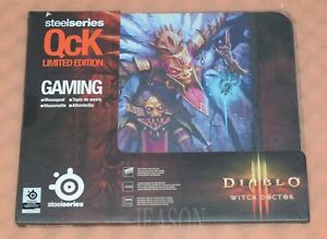 SteelSeries QcK Gaming Mouse Pad (DIABLO WITCH DOCTOR)(Random pattern)