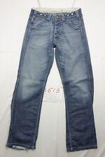 Lee cintura total vaqueros usados (Cod.E613) Talla 45 W31 L34 boyfriend
