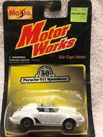 Vintage 🚘1999 Maisto Porsche 911 Speedster Limited Edition 50 VW Motor Works