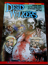DEAD WALKERS #1  - THE GROSS COVER VARIANT - Zombies Eating Faces