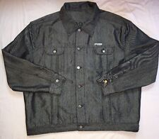 ICE JEANS ICEBERG Denim Jacket  Men's Size 56 Made In Italy Hip-Hop Rapper Style