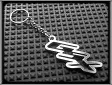 Keyring for SUZUKI GSX - Stanless Steel, Hand Made, Chain Loop Key Fob