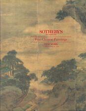 SOTHEBYS Fine Chinese Paintings Catalog 1994 He Shaoji Lin Fengmian Zhand Daqian
