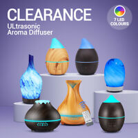 LED Purifier Aromatherapy Ultrasonic Air Diffuser Oil Color Humidifier Aroma USA