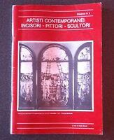 ANTOLOGIA DI ARTISTI CONTEMPORANEI INCISORI PITTORI SCULTORI 1978 DISPENSA N. 2