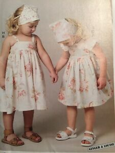McCall's Sewing Pattern MP210 Sundress Jumper Hat Shorts Top Uncut 1-4 Ginger